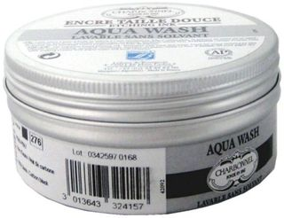 CHARBONNEL AQUA WASH ETCHING INK 150ML 55981 BLACK