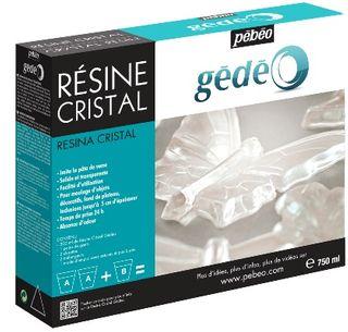 GEDEO CRYSTAL RESIN 750ML