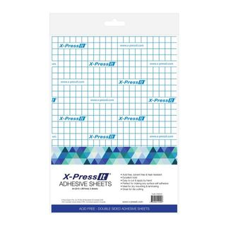 X-PRESS IT DOUBLE SIDED TAPE SHEETS A4 (PKT 5)