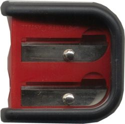 FABER-CASTELL RUBBERGRIP 2 HOLE SHARPENER
