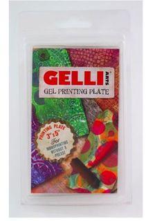 "GELLI PRINTING PLATE 3""X5"" (7.6X12.7CM)"