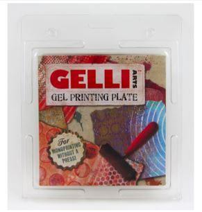 "GELLI PRINTING PLATE 6""X6"" (15.2X15.2CM)"