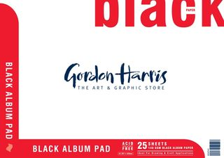 BLACK ALBUM PAD 25 SHEET 140G A2
