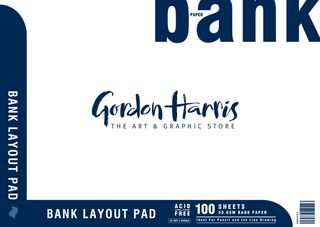 BANK LAYOUT PAD 50GSM 100 SHEET A2