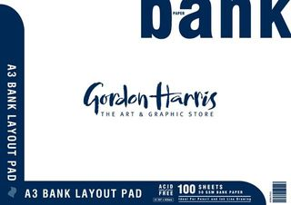 BANK LAYOUT PAD 50GSM 100 SHEET A3