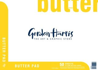 GH BUTTER PAPER PAD 50 SHEETS A2