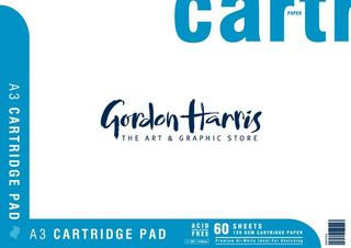 CARTRIDGE PAD 120G 60 SHEET A3