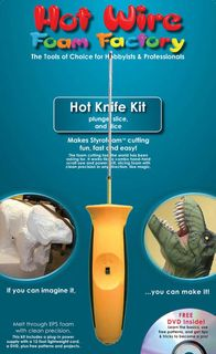 HOT WIRE FOAM CRAFT HOT KNIFE KIT W/DVD