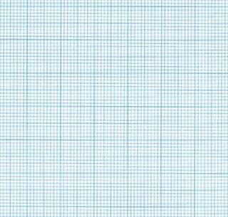 GORMACK C056W BLUE GRAPH PAPER SHEET 2MM
