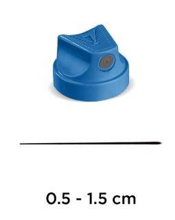 MOLOTOW CAP FLAME SUPERFINE (GREY/BLU)X5