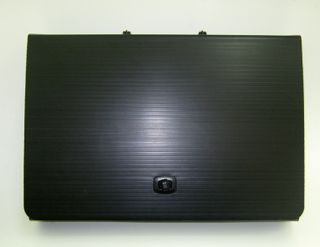 TECH FOLDER COR/PL 550X400X50MM A3 BLK