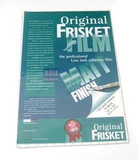 MASKING FILM - FRISKET 380X254 PKT 8