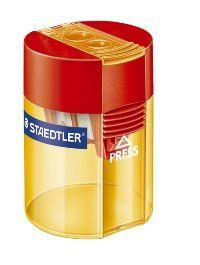 STAEDTLER 2 HOLE TUB PENCIL SHARPENER