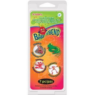 SCULPEY BAKE & BEND KIT