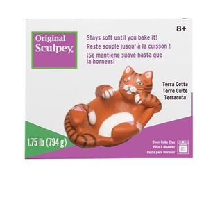 SCULPEY ORIGINAL TERRACOTTA 454GM