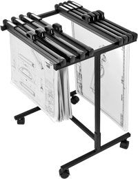 HANG-A-PLAN CAD MOBILE TROLLEY