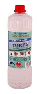 TMK MINERAL TURPENTINE 1 LITRE (TURPS)