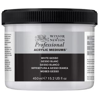 W&N ARTIST ACRYLIC WHITE GESSO 450ML