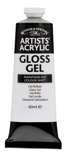 W&N ARTIST ACRYLIC GLOSS GEL 60ML
