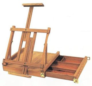 EXPRESSION TABLE BOX EASEL WITH  DRAWER