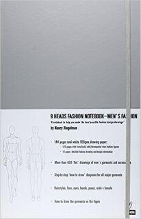 9 HEADS FASHION NOTEBOOOK: MEN