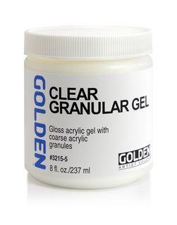 GOLDEN E/COARSE CLEAR GRANULAR GEL 236ML