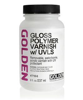 GOLDEN VARNISH POLYMER GLOSS 236ML