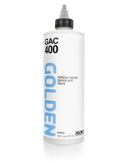 GOLDEN GAC-400 ACRYLIC 473ML FABRIC STIFFENER