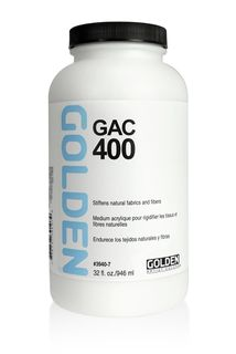 GOLDEN GAC-400 ACRYLIC 946ML FABRIC STIFFENER