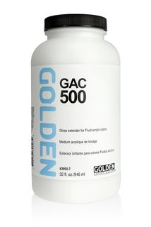 GOLDEN GAC-500 ACRYLIC 946ML GLOSS EXTENDER