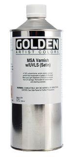 GOLDEN VARNISH MSA SATIN 946ML