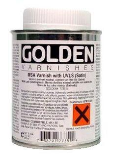 GOLDEN VARNISH MSA SATIN 236ML