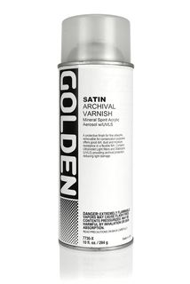 GOLDEN SPRAY VARNISH SATIN 400ML