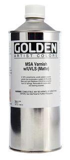 GOLDEN VARNISH MSA MATTE 946ML