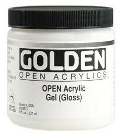 GOLDEN OPEN ACRYLIC GEL (GLOSS) 236ML