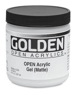 GOLDEN OPEN ACRYLIC GEL (MATTE) 236ML