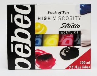 PEBEO STUDIO ACRYLIC 100ML SET 10