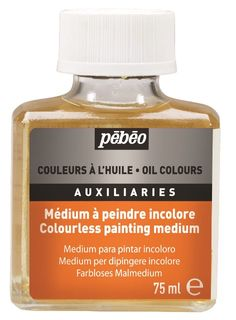 PEBEO COLOURLESS PAINTING MEDIUM 75ML