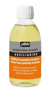 PEBEO COLOURLESS PAINTING MEDIUM 245ML