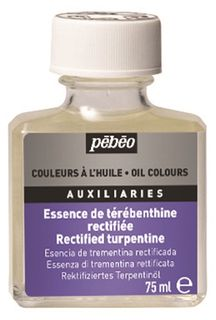 PEBEO RECTIFIED TURPENTINE 75ML