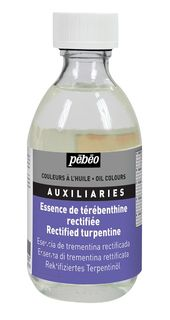 PEBEO RECTIFIED TURPENTINE 245ML