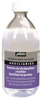 PEBEO RECTIFIED TURPENTINE 495ML