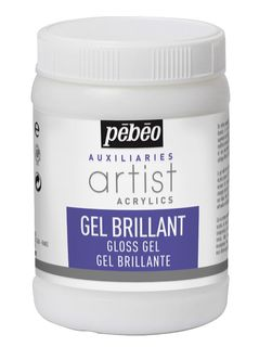PEBEO ARTIST ACRYL GLOSS GEL 250ML