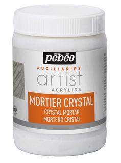PEBEO ARTIST ACRYL CRYSTAL MORTAR 250ML