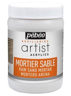 PEBEO ARTIST ACRYL SAND MORTAR 250ML