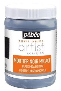 PEBEO ARTIST ACRYL BLACK MORTAR 250ML