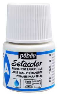 PEBEO SETACOLOR FABRIC GLUE 45ML