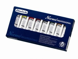 SCHMINCKE NORMA PROFESSIONAL OIL SET 8 X 35ML TUBE