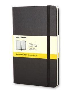 MOLESKINE GRID NOTEBOOK LARGE BLACK