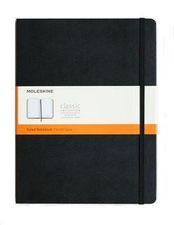 MOLESKINE RULED NOTEBOOK XL BLACK